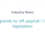 FCSA responds to off-payroll / IR35 draft legislation